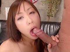 Amazing Japanese model Satsuki Aoyama in Hottest JAV uncensored Cumshots clip