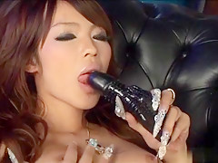 Exotic Japanese model Rukia Mochizuki in Horny JAV uncensored Lingerie clip