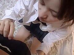 Amazing Japanese model Asuka Uzuki in Crazy Close-up JAV scene