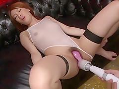 Amazing Japanese slut Rei in Hottest JAV uncensored Group Sex clip