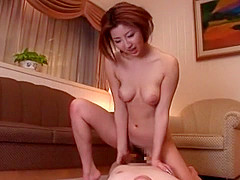 Exotic Japanese model in Horny Blowjob, Couple JAV movie