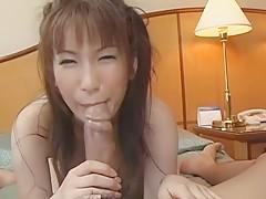 Haruki Tohno Uncensored Hardcore Video with Facial scene