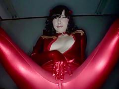 Ayane Okura in Beautiful Milky Cosplay Girl part 2.2