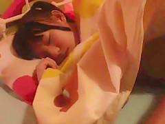 Fabulous Japanese slut Marie Konishi, Aoi Ichigo, Yuri Shinomiya in Exotic small tits, college JAV clip