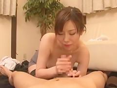 Hottest Japanese girl Nanako Mori in Amazing Big Tits, Blowjob/Fera JAV scene