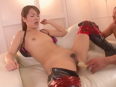 Best Japanese slut Satomi Kirihara in Crazy JAV uncensored Dildos/Toys video