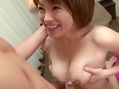 Incredible Japanese chick Saki Kataoka in Fabulous Secretary, Masturbation/Onanii JAV scene