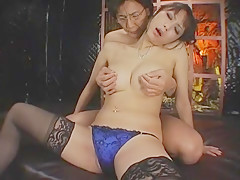 Best Japanese whore Natsumi Horiguchi in Incredible Stockings/Pansuto, Facial JAV clip