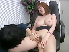 Fabulous Japanese chick Rio Hamasaki in Incredible Lingerie, Cunnilingus JAV scene