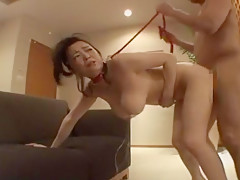 Horny Japanese slut Aki Tomosaki in Amazing Fetish, Big Tits JAV clip