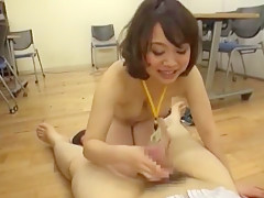 Exotic Japanese girl Yuuka Konomi, Arisu Hayase, Miko Harune in Incredible POV, Blowjob/Fera JAV movie