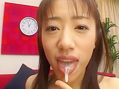 Fabulous Japanese chick Yuna Mizumoto in Amazing POV, Handjobs JAV movie