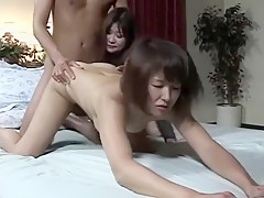 Crazy Japanese model in Fabulous Threesomes, Close-up JAV video
