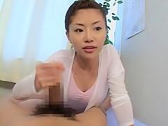 Hottest Japanese model in Fabulous Cumshots, Handjobs JAV movie