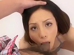Crazy Japanese girl Reika Aizumi in Hottest POV, Blowjob/Fera JAV video