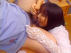 Exotic Japanese slut in Horny JAV uncensored Cumshots clip