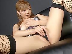 Amazing Japanese model Hazuki Rui in Hottest JAV uncensored Masturbation clip