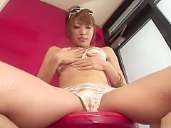 Incredible Japanese whore Aya Sakuraba in Exotic JAV uncensored Masturbation movie