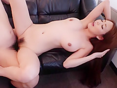 Crazy Japanese chick Akari Asakiri in Hottest Big Tits JAV scene