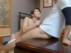 Crazy Japanese slut Maki Hojo in Best MILFs JAV scene