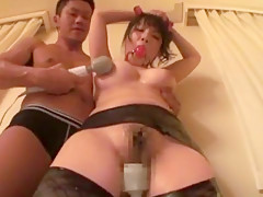Exotic Japanese model Miho Tsujii in Amazing Dildos/Toys, BDSM JAV clip