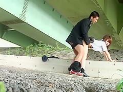 Amazing Japanese chick Meina Minami in Horny Public, Voyeur JAV video