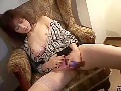 Incredible Japanese slut in Best Dildos/Toys JAV clip