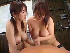 Incredible Japanese girl Jun Watabe, moe 2 in Best Big Tits JAV movie