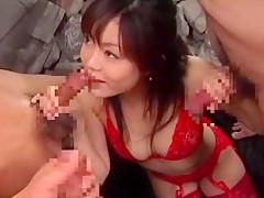 Crazy Japanese whore Miyu Hoshino in Incredible Facial, Voyeur JAV video