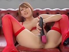 Amazing Japanese girl Reon Otowa in Crazy Masturbation/Onanii, Dildos/Toys JAV video
