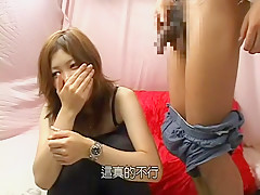 Best Japanese girl in Crazy Dildos/Toys, Blowjob/Fera JAV scene