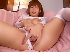 Horny Japanese chick Airu Oshima in Best JAV uncensored MILFs scene