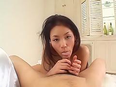 Horny Japanese chick Kaede in Best JAV uncensored Blowjob scene