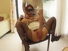 Fabulous Japanese whore Shelly Fujii in Horny Dildos/Toys, BDSM JAV scene