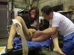 Crazy Japanese whore in Amazing JAV scene