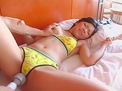 Best Japanese slut Yui Kinoshita, Konata Suzumiya, Megumi Shiina in Incredible Close-up, Cumshots JAV scene