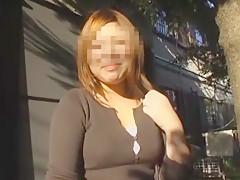 Exotic Japanese whore in Horny Voyeur JAV video