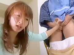 Hottest Japanese whore in Best Blowjob/Fera, Facial JAV video