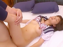 Horny Japanese whore Ai Komori in Fabulous Facial, Blowjob JAV video