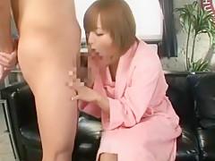 Incredible Japanese slut Yu Namiki in Best Blowjob JAV scene