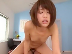 Hottest Japanese chick Nanami Kawakami in Incredible Small Tits, Doggy Style JAV scene
