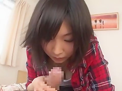 Crazy Japanese girl in Incredible Blowjob JAV video