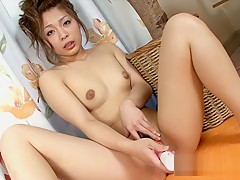 Fabulous Japanese girl in Incredible Dildos/Toys, Close-up JAV clip
