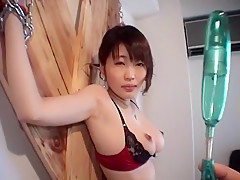 Horny Japanese chick Mika Shindoh in Fabulous BDSM, Secretary JAV scene