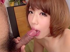 Horny Japanese whore Seira Matsuoka in Best JAV uncensored Blowjob scene