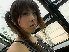 Amazing Japanese slut Runa Akatsuki in Exotic Blowjob, Couple JAV clip