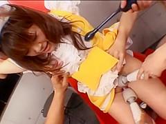 Amazing Japanese whore Mai Satsuki, Mei Hiragi, Mina Manabe in Exotic BDSM, Femdom JAV scene