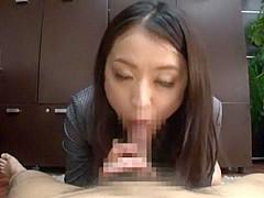Best Japanese chick in Hottest POV, Blowjob JAV movie