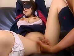 Incredible Japanese girl Yui Hinata in Amazing Cunnilingus, Big Tits JAV clip