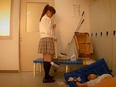 Incredible Japanese chick Mahiro Aine in Horny Changing Room, Fetish JAV scene